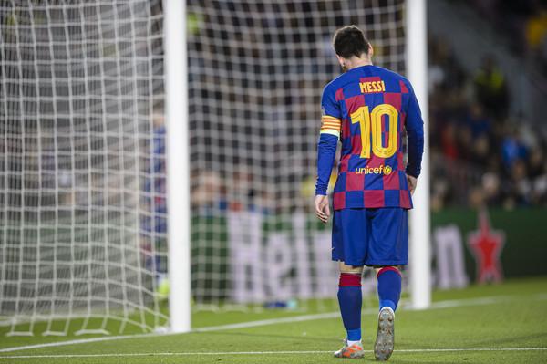 Leo Messi zdobył 4 bramki z rzutów wolnych na 7 ostatnich prób  dokładnie tyle