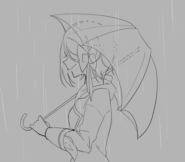 ω遇到下雨有什麼感受呢