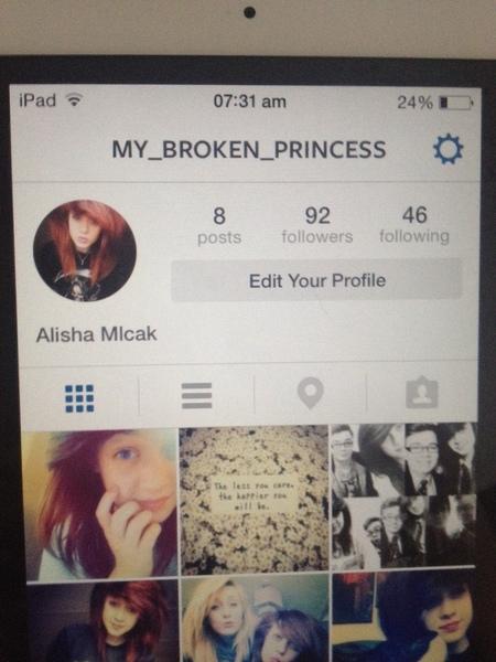 Aww you follow me followed you back x