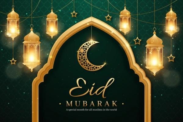 Eid Mubarek an alle