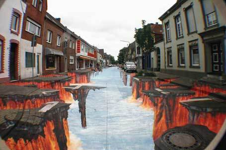 Poste une photo de street art