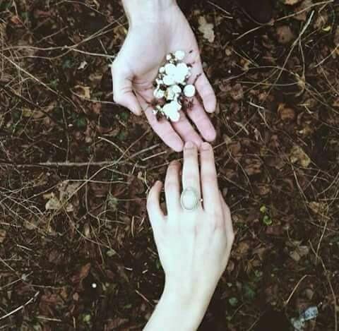 هات يدك ليزهر قلبي