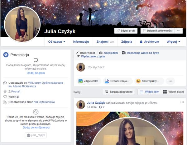 Zaprosisz na Facebooku