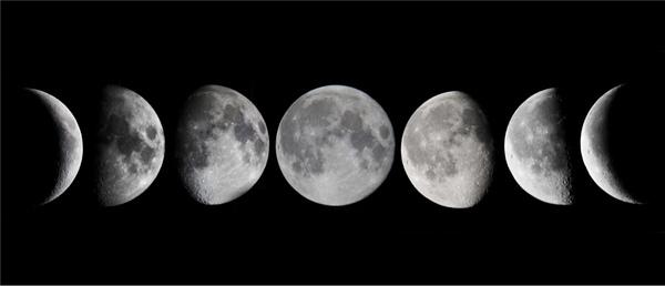 إنتي القمر بكل اشكاله