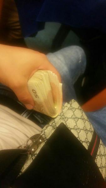 Welche ist die höchste Geldsumme die du je in der Hand hattest