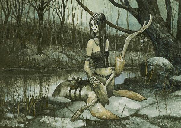 Cè una creatura mitologica che ti piace particolarmente