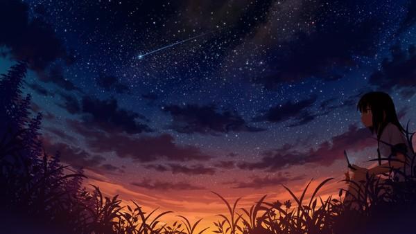أشياء بسيطة تعطي للحياة حياة  مثل تأمل السماء وغيمها