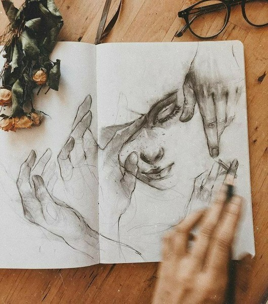 Тебя когданибудь рисовали