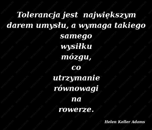 Tolerujesz homo