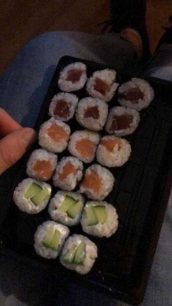 Isst du gern sushi