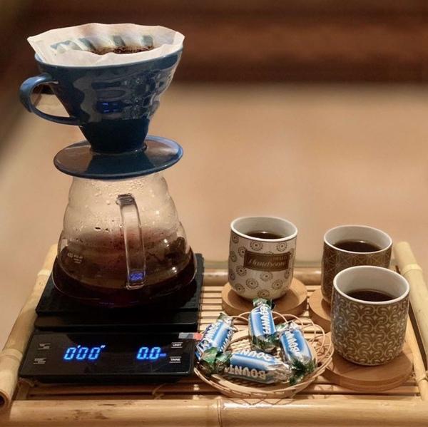 صباح الخير  أفيدوني ي حلوين أيش أفضل الة لتحضير القهوة