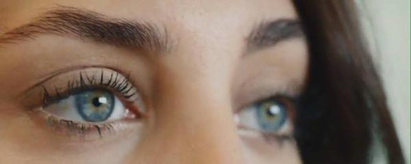 Humble blue eyes