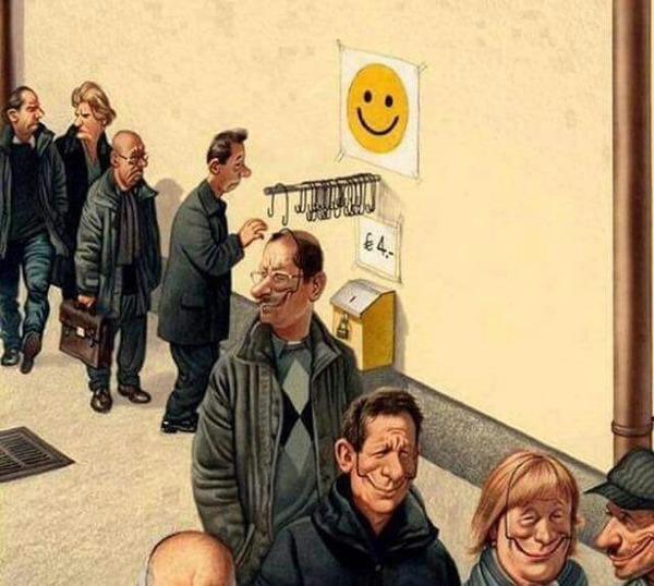 Czy można udawać bycie szczęśliwym