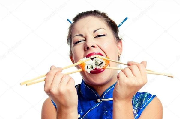 Почему девочки так любят суши Как считаешь
