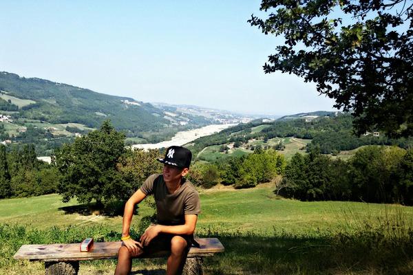 foto con paesaggio