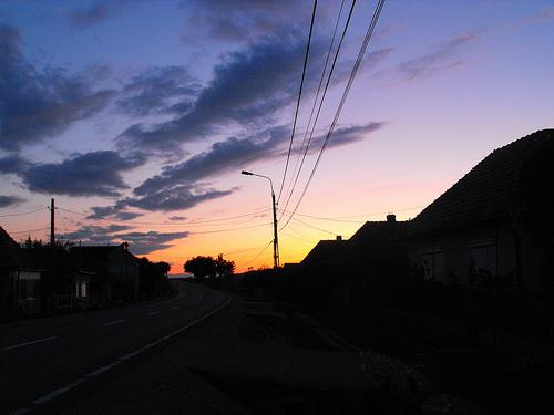 Rakj fel egy képet a mai vagy a tegnapi naplementéről