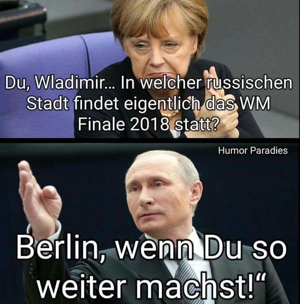 Putin oder Merkel