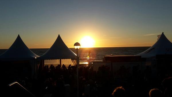 Postest du ein Bild vom Sonnenaufgang heute Oder poste ein Bild vom gestrigen