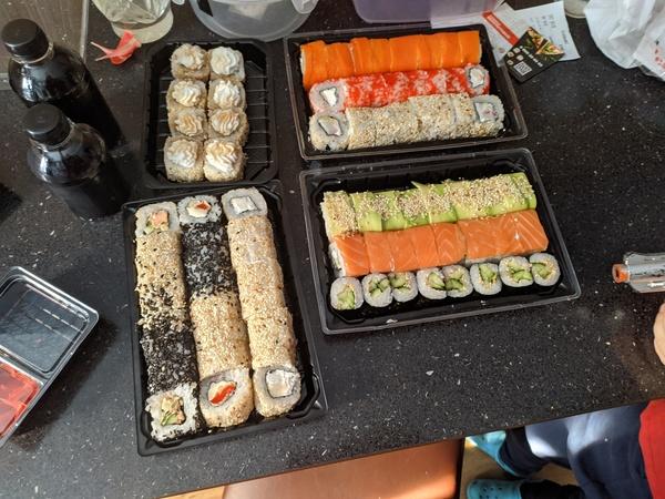 Любишь суши