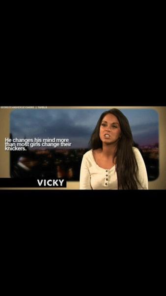 Vicky is heel erg geil