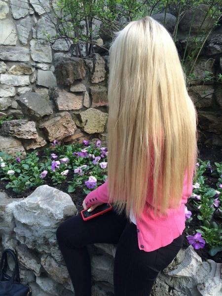 Сфоткайте вашу длину волос