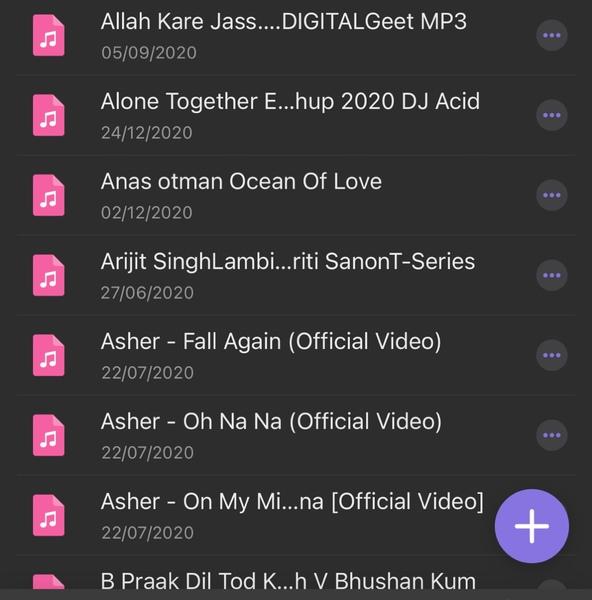 Post your playlist