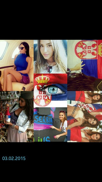 Die schönsten frauen kommen aus serbien