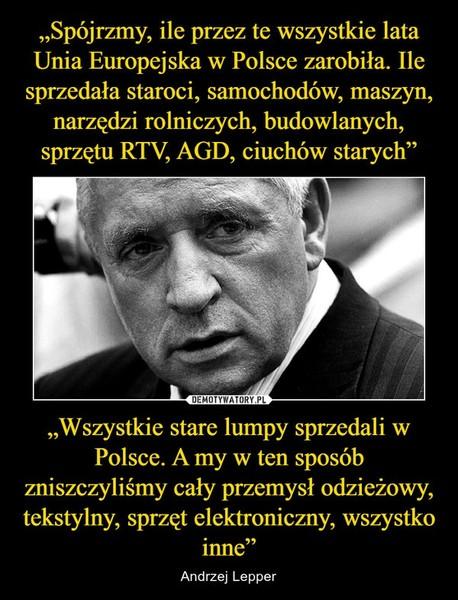 Jakie masz zdanie o obecnym członkostwie Polski w Unii Europejskiej Jakie