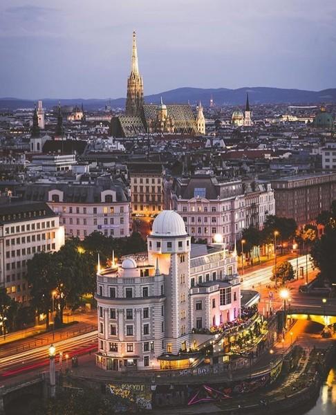 Buongiorno Vienna Austria Vienna non può fare astrazione dal suo passato
