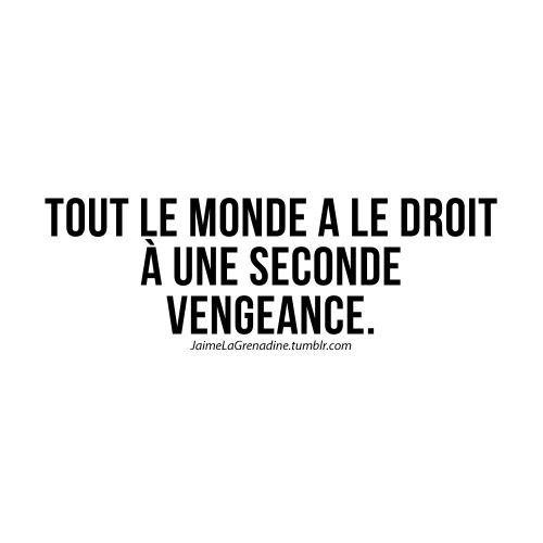 CDJ Une citation sur  la vengeance