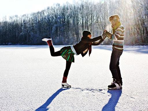 В это воскресенье надеюсь  что получится покататься на коньках  А ты уже была на