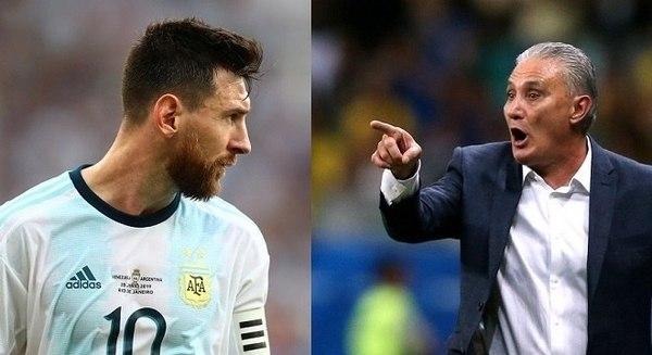 Tite trener Brazylii po meczu ArgentynaBrazylia 10 Powiedziałem