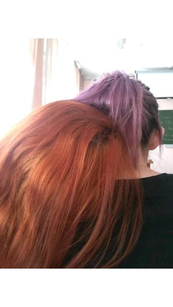 Фиолетовый или оранжевый