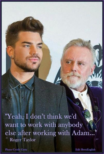 Co myślisz o tym że Adam Lambert zastępuje Freddiego