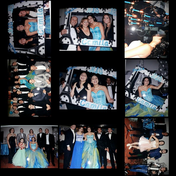 collage de sus XV