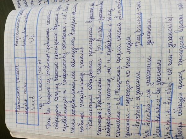 у вас красивый почерк