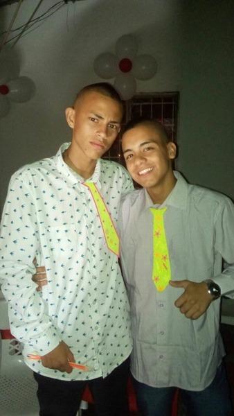 Foto con Brayan Vargas