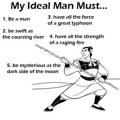 in your opinion what should a man be like