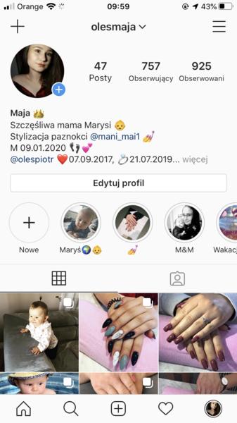 Podasz swój instagram