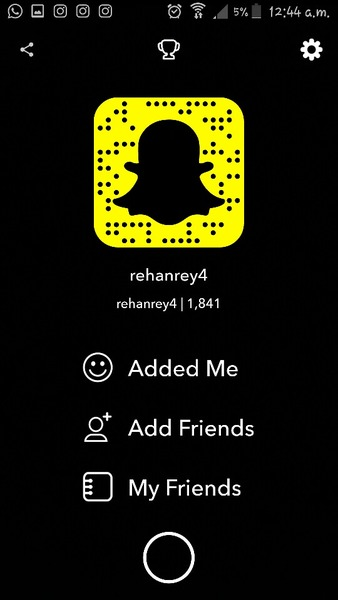 Your snap id