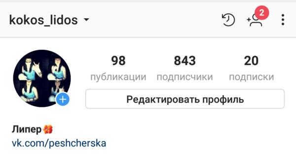 instagram есть
