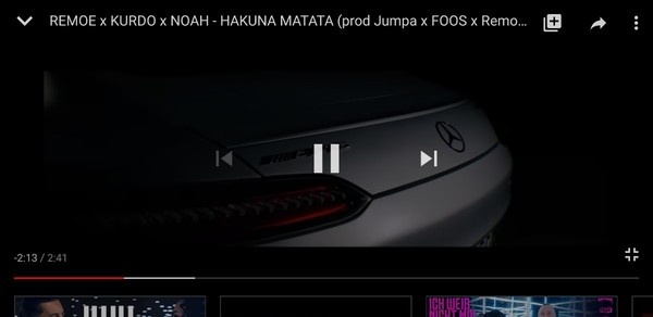 Welches Musikvideo feierst du aktuell