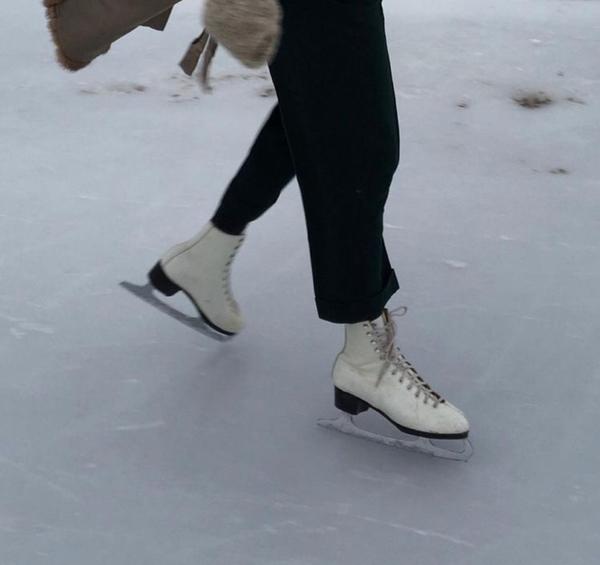 Пойдём на коньках покатаемся