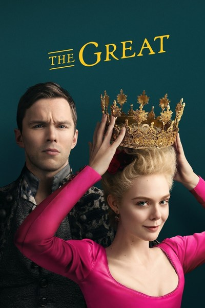 THE GREAT STARTS  CHANNEL 4  9PM  UK TIME USA its available on HULUSTARZPLAY
