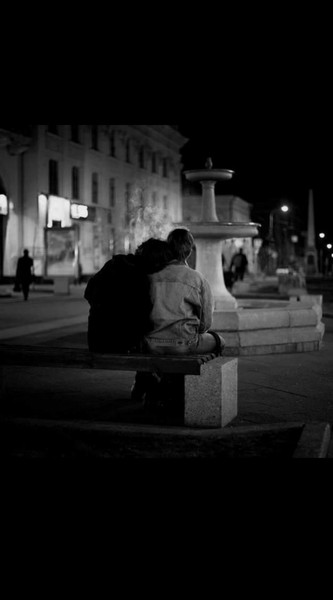 Our dark moments dont need words  a pure embrace can fix it at all
