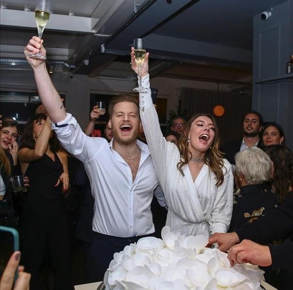 Zdjęcie z zaręczyn Ege i Liora