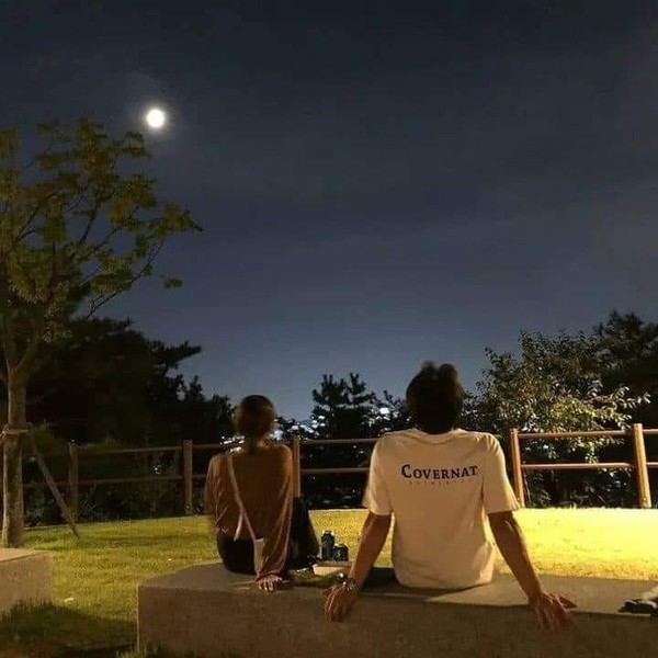 الليل وسماه ونجومه وقمره
