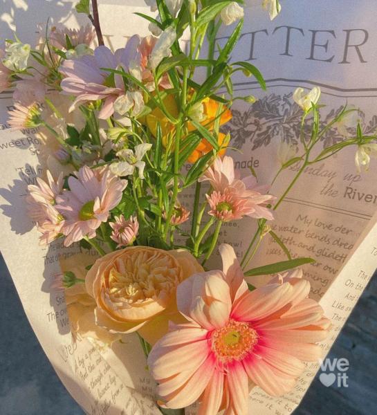 mīļākie ziedi