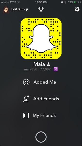Pap Snapchat