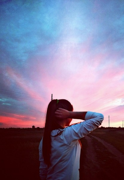 Все любят фотографировать закат Прикрепи свою фоточку заката